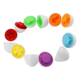 6pcs Smart wise eggs Toy Hot Sell New Developmental Baby Toys