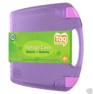 LEAPFROG Leap Frog Pink Tag Storage Carrying Case NEW
