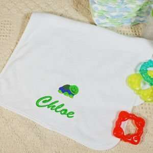 Embroidered Icon Baby Burp Cloth Baby