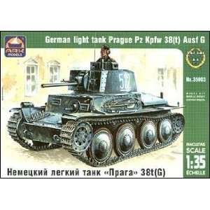 ARK 1/35 PzKpfw 38(t) Ausf G WWII German Light Tank Kit