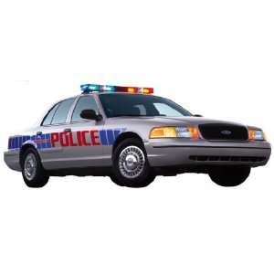 2003 Crown Victoria Police Interceptor Wall Mural