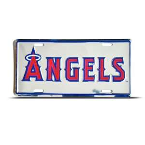 Anaheim Angels Mlb Metal Sport License Plate Wall Sign Tag