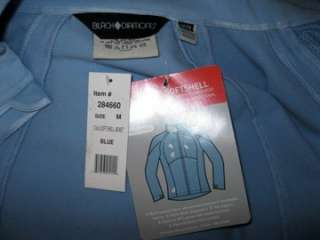 NWT Black Diamond Ski Jacket Soft Shell M 8 10 Pale Blu