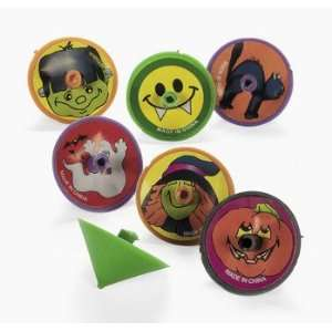 Halloween Spin Tops   Novelty Toys & Spin Tops & Wind Ups