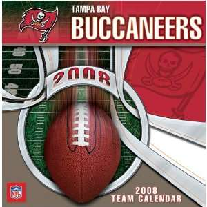 TAMPA BAY BUCCANEERS 2008 NFL Daily Desk 5 x 5 BOX