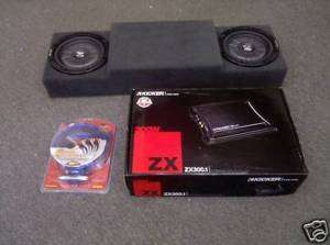 Chevy Colorado GMC Canyon Crewcab Subs Amp Box Combo NEW Subwoofer