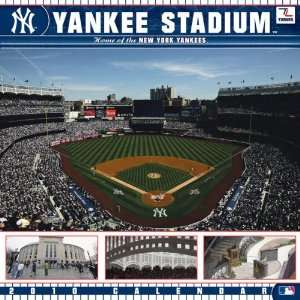 com Yankee Stadium 2010 New York Yankees 12x12 Stadium Wall Calendar