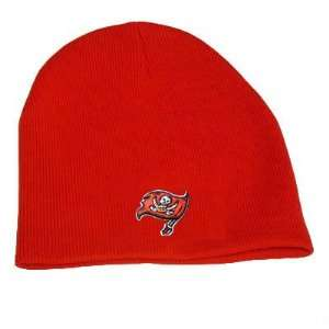 CUFFLESS BEANIE KNIT HAT TAMPA BAY BUCCANEERS BUCS
