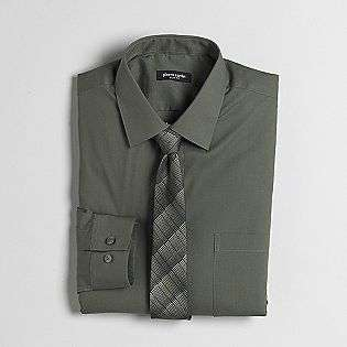 Mens Slim Fit Shirt & Tie Boxed Set  Pierre Cardin Clothing Mens