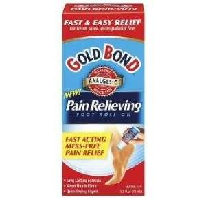 Gold Bond Pain Relieving Foot Roll on, Size 4oz Health