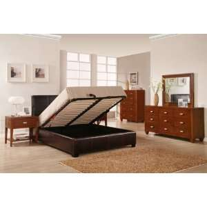 The Hudson Lucca Low Profile Full Size Bed LU08F4 Bed