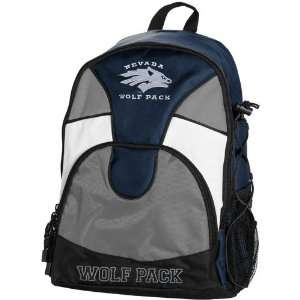 Nevada Wolf Pack Navy Blue Gray Double Trouble Backpack