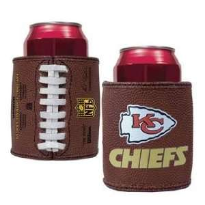 Kansas City Chiefs NFL Football Pigskin Can Koozie