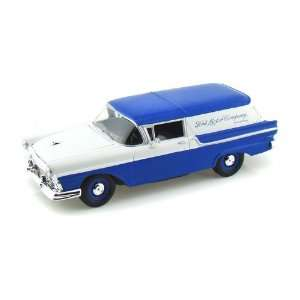 1957 Ford Courier Sedan Delivery 1/24 Blue w/White