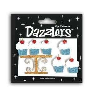 & Lt. Blue Cupcakes & Stand Birthday Dazzlers Arts, Crafts & Sewing