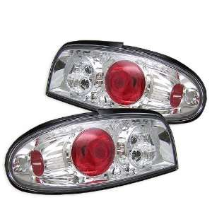 Spyder Auto Nissan Altima Chrome Altezza Tail Light Automotive