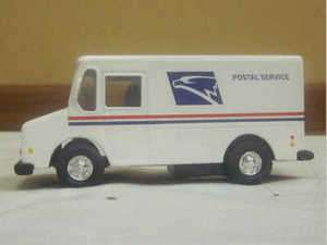 White Postal Service Toy Truck Kids Collectible Item