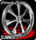 Colorado Custom Chrome Slammer 7 Wheels, Tires, Rotors Harley Flh Flhr
