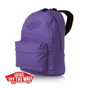 Mens Vans Realm Backpack   Passion Flower