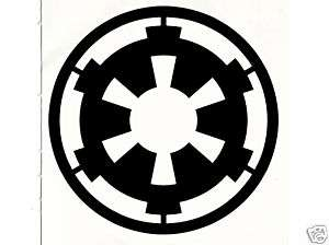 Star Wars Imperial Insignia DECAL STICKER GRAPHIC 18cm
