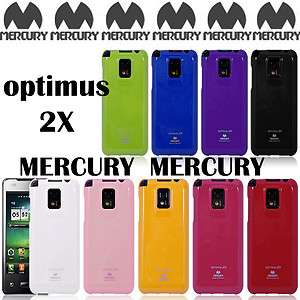 LG OPTIMUS 2X P990 MERCURY JELLY CASE / HIGH QUALITY PEARL JELLY CASE