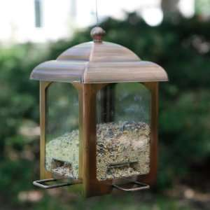 Perky Pet Antique Copper Bird Feeder Patio, Lawn & Garden