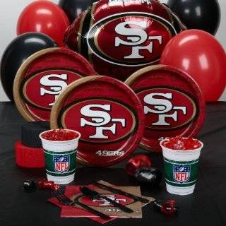 San Francisco 49ers Football Cake Layon