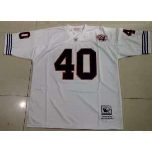White Throwback Football Jersey Size 56