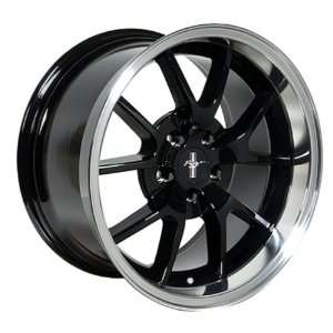 Ford Mustang FR500 Style Wheel Black Wheels Rims 1994 1995