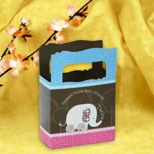 Boy & 1 Girl   Mini Personalized Baby Shower Favor Boxes Toys & Games