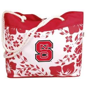 North Carolina State Wolfpack NCAA Hibiscus Tote