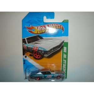 2012 Hot Wheels Treasure Hunts 69 Chevy Chevelle SS 396 Silver/Blue