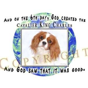 Cavalier King Charles Mouse Pad Dog Mousepad Creation