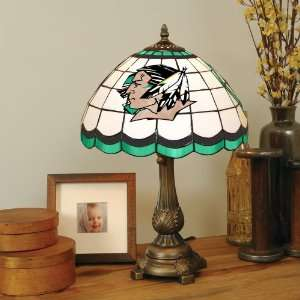 University of North Dakota Stained Glass Table Lamp