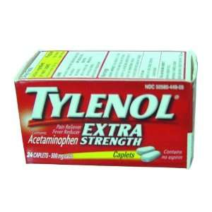 Tylenol Extra Strength Pain Reliever/Fever Reducer 500 mg