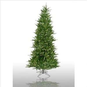 4.5 Prelit Slim Tiffany Spruce Artificial Christmas Tree