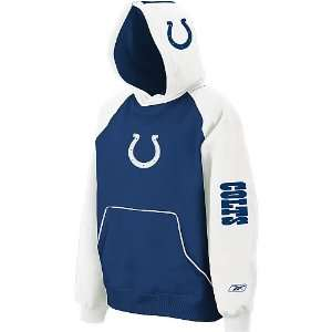 Indianapolis Colts NFL Youth Helmet Hoodie (Large)  Sports