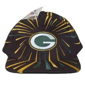 Vintage Green Bay Packers Cotton Gameday NFL Snapback Hat Cap