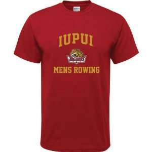 Cardinal Red Youth Mens Rowing Arch T Shirt