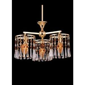 Dale Tiffany Kendell 3 Light Single Tier Chandelier