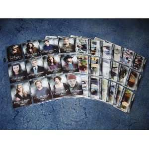 Twilight 1 71 Complete Base Set Cards Topps