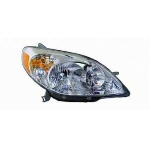 03 08 Toyota Matrix Headlight (Passenger Side) (2003 03 2004 04 2005