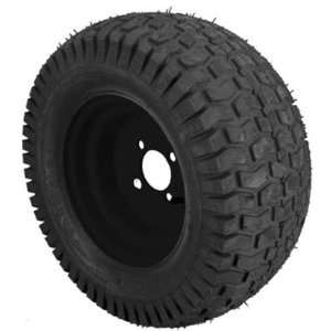 E Z GO 28442G03 Turf Saver Black Rim Wheel with Tire [Misc