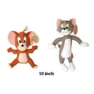 TOM and Jerry Soft Stuffed Plush Dolls Toy Set Toys