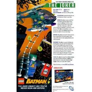 Lego Batman The Dark Knight, Joker & The Joker Copter #7782 Great
