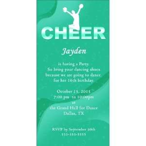 Cheer Dance Green   100 Cards