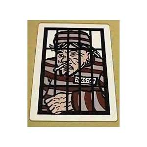 Behind Bars   GIANT   Card / Stage / Parlor Magic Toys