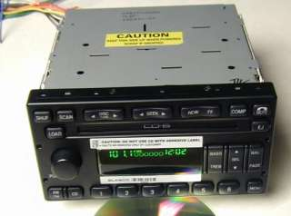 NEW FORD TRUCK OEM 6 DISC INDASH CD PLAYER CHANGER RADIO F150 250 F350