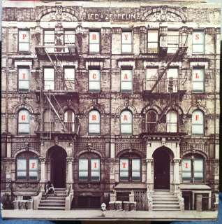 led zeppelin physical graffiti label swan song records format lp