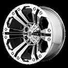 18 XD778 MONSTER CHROME RIMS & TIRES NITTO TERRA GRAPPLER LT